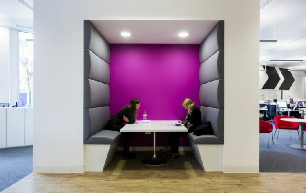 Office Mesh Seating Meeting Booths