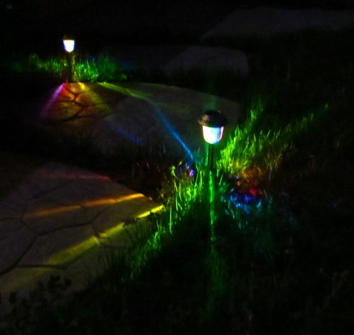 Medium Of Solar Path Lights