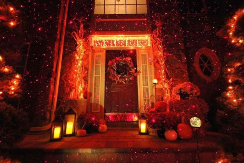Fall Outdoor Decorations Wallpaper Halloween Outdoor