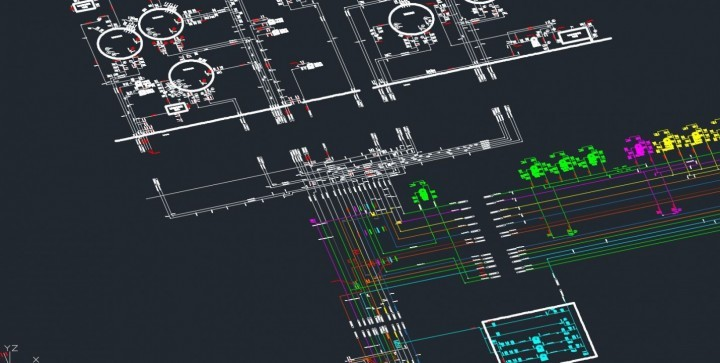 Preparing Piping  Instrumentation Diagrams using 3D laser scanning