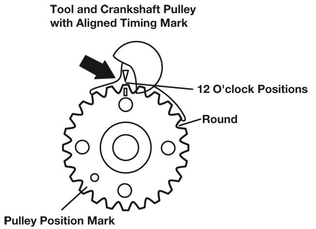 nissan h20 engine timing marks diagram