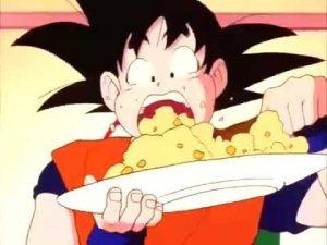 Hd Broly Wallpaper Goku Comiendo