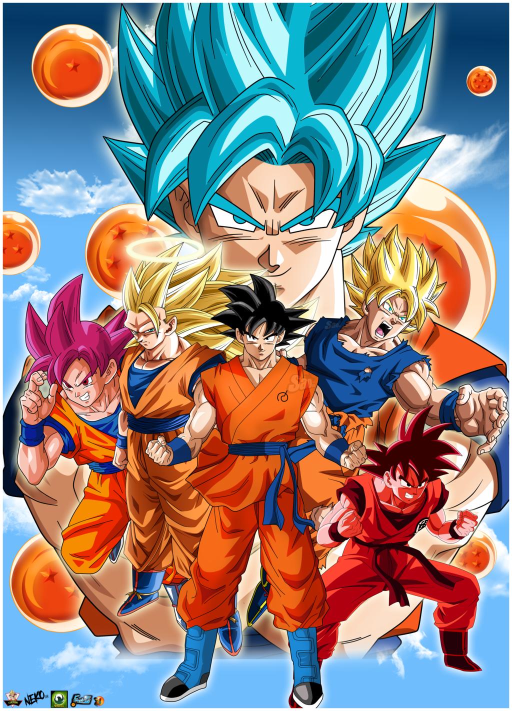 Dragon Ball Gt 3d Wallpaper Goku 2017