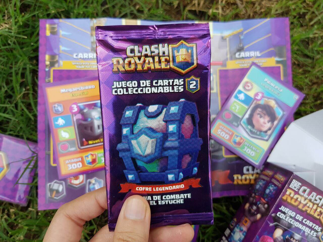 Clash Royale Juego De Mesa Unboxing Cartas De Clash Royale La Srta Ou