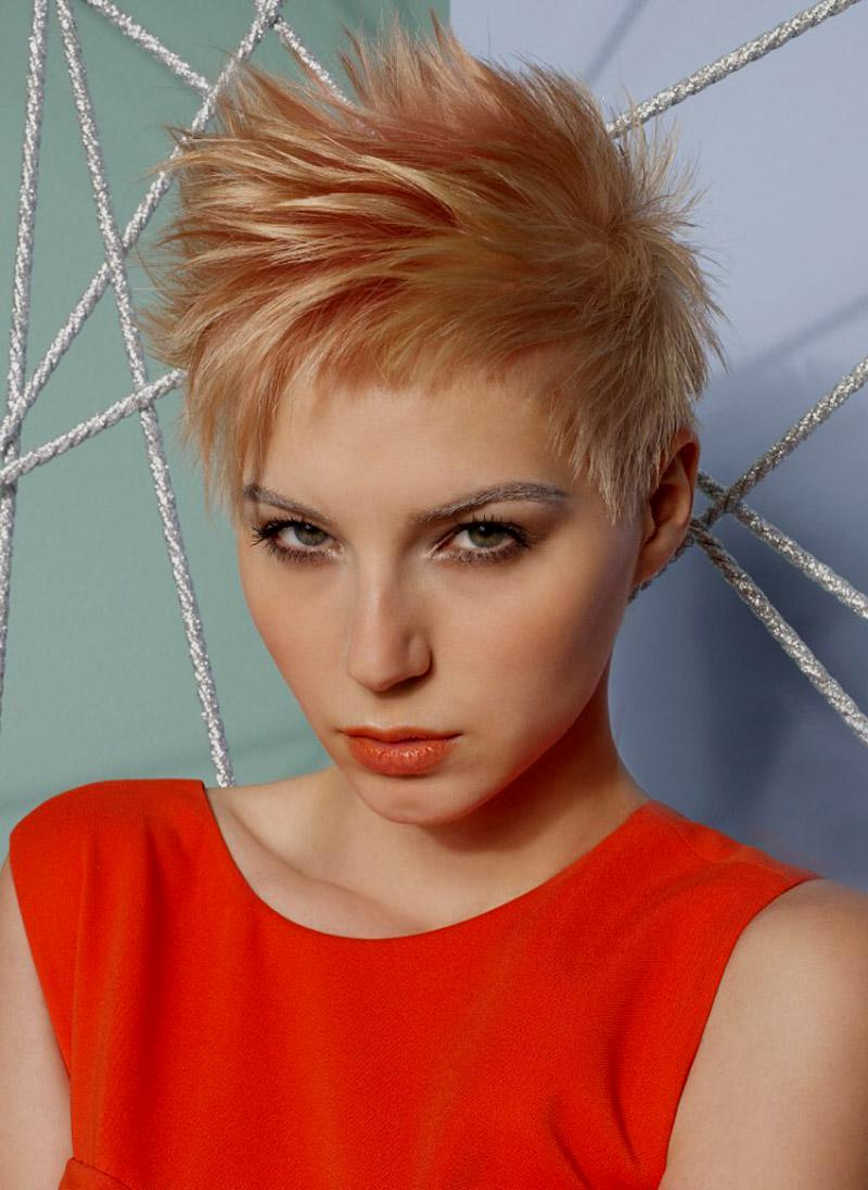 Pixie Cuts With Wavy Hair Short Spiky Haircuts And Hairstyles For Women 2017 Very