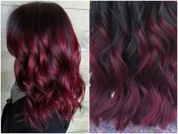 60 Burgundy Hair Color Ideas | Maroon, Deep, Purple, Plum ...
