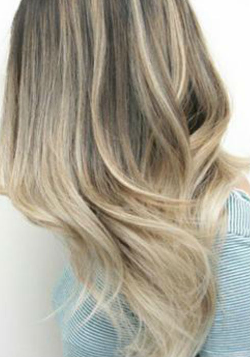 How Long Does Hair Highlights Last Ash Blonde Balayage And Silver Ombre Hair Color Ideas 2017