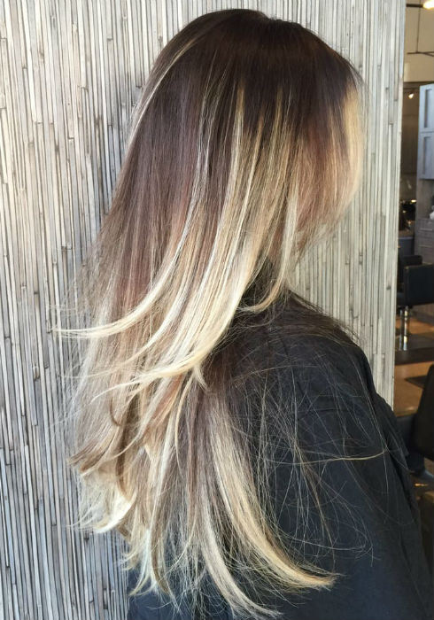 Caramel Balayage On Straight Hair Balayage On Straight Hair Short Medium Length Long