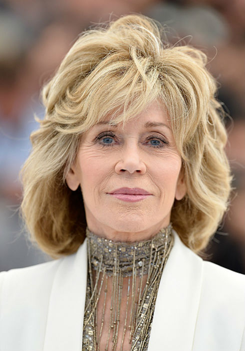 Straight Hair Cutting Video Jane Fonda Haircuts Shaggy Bobs Womanly Waves And The