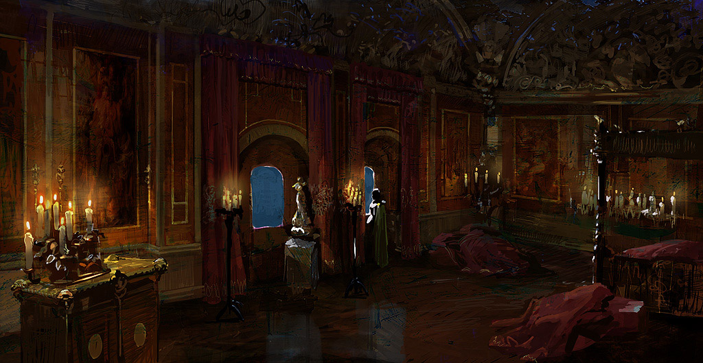Red Star 3d Wallpaper Concept Art The Witcher 2 Last Minute Continue
