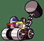 Egg Hammer Sonic Advance Tank