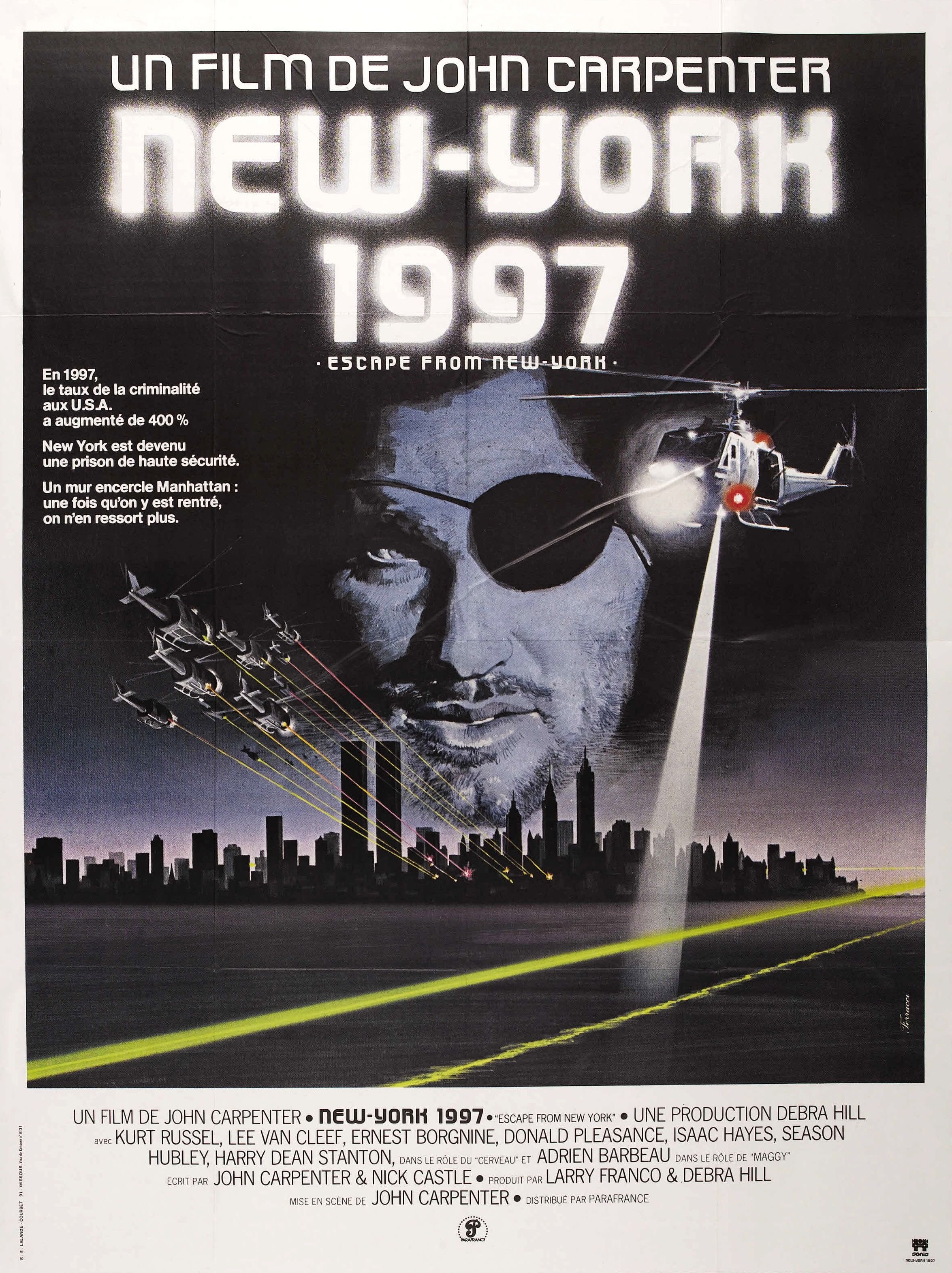 Affiche New York Escape From New York Poster Gallery Last Road Reviews