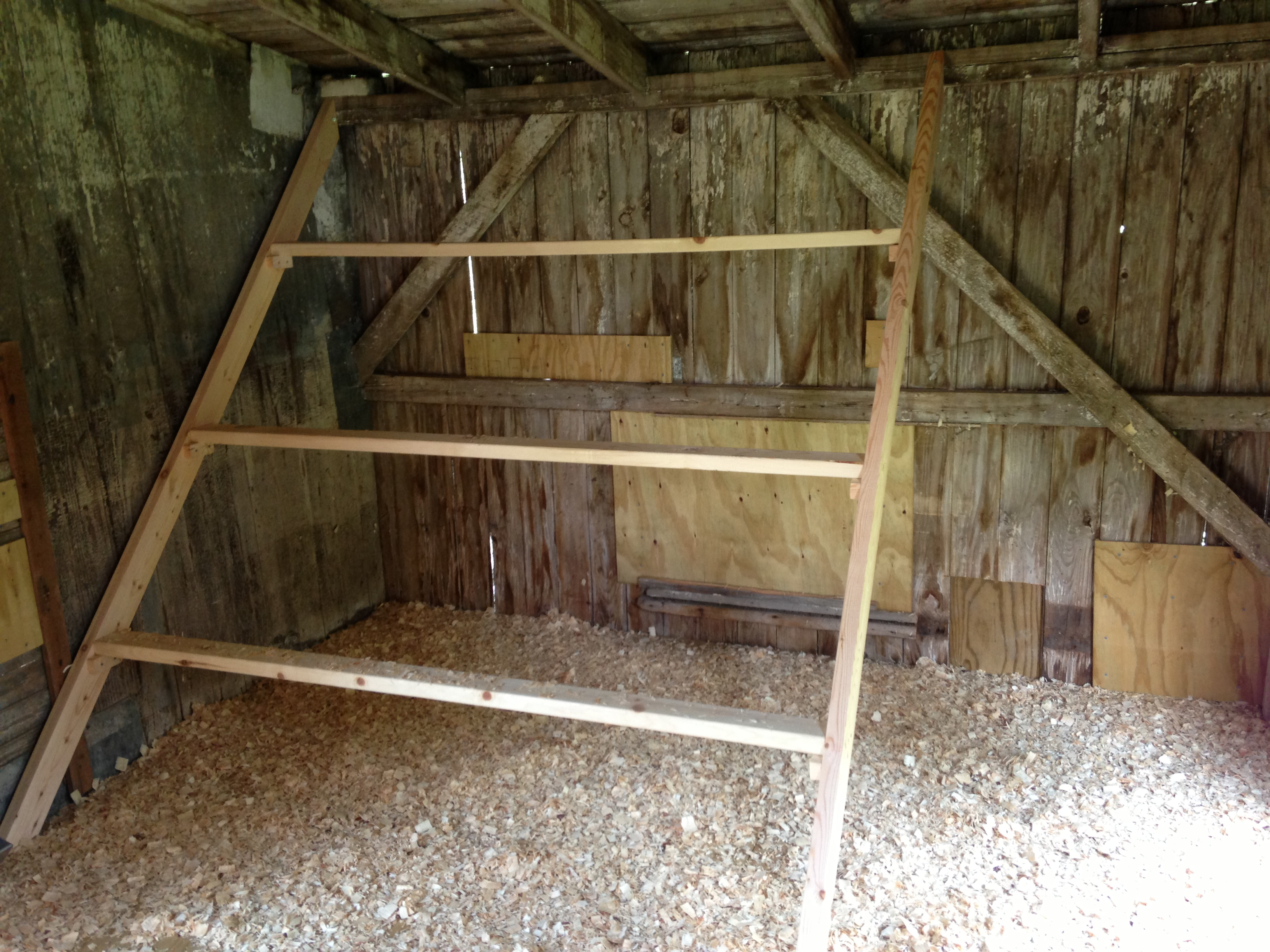 Bodem Kippenren Chicken Coops Roost Open Bottom Pictures To Pin On