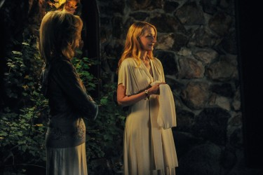 Celia Green (Patricia Clarkson) and Veronika Goss (Judith Light) in LAST WEEKEND.