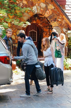 The Green family's guests leave after their holiday weekend in LAST WEEKEND.