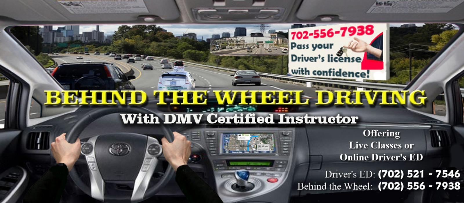 Behind the Wheel driving lessons in Las Vegas