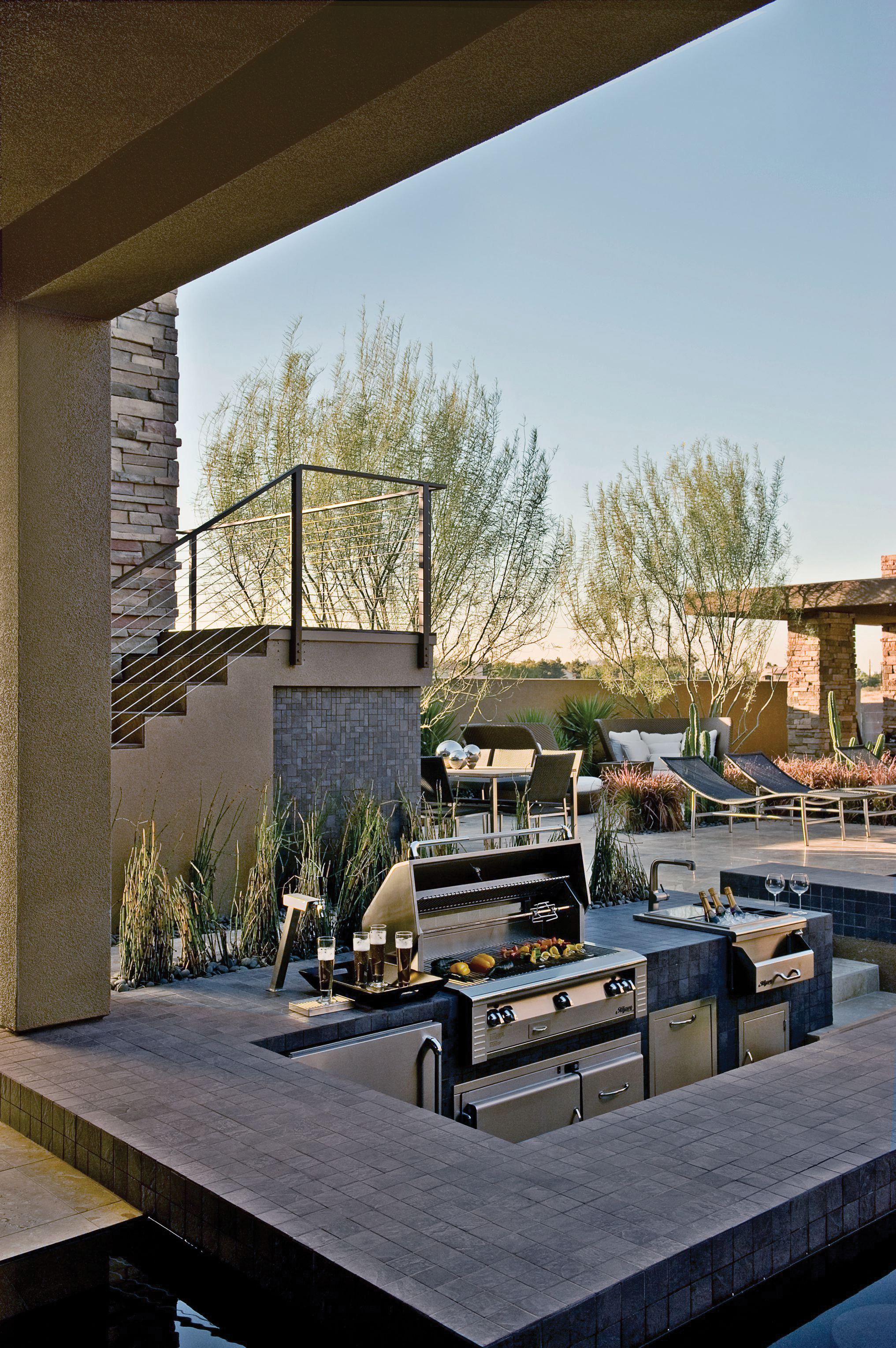 Barbecue Islands Las Vegas Outdoor Kitchen - Barbecue Grill Las Vegas