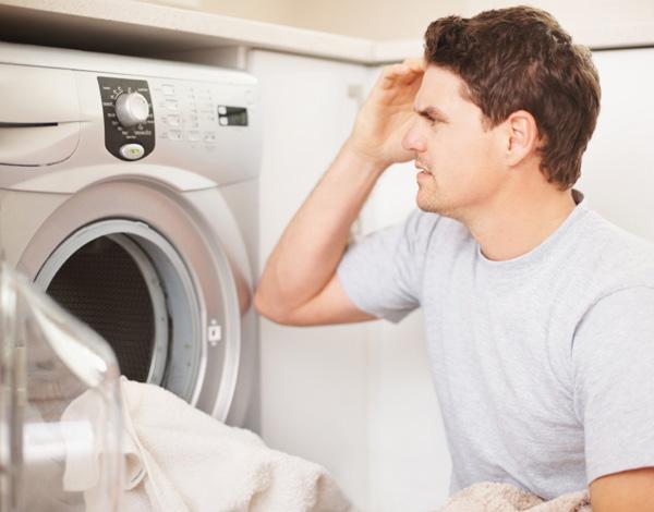 Man at Dryer