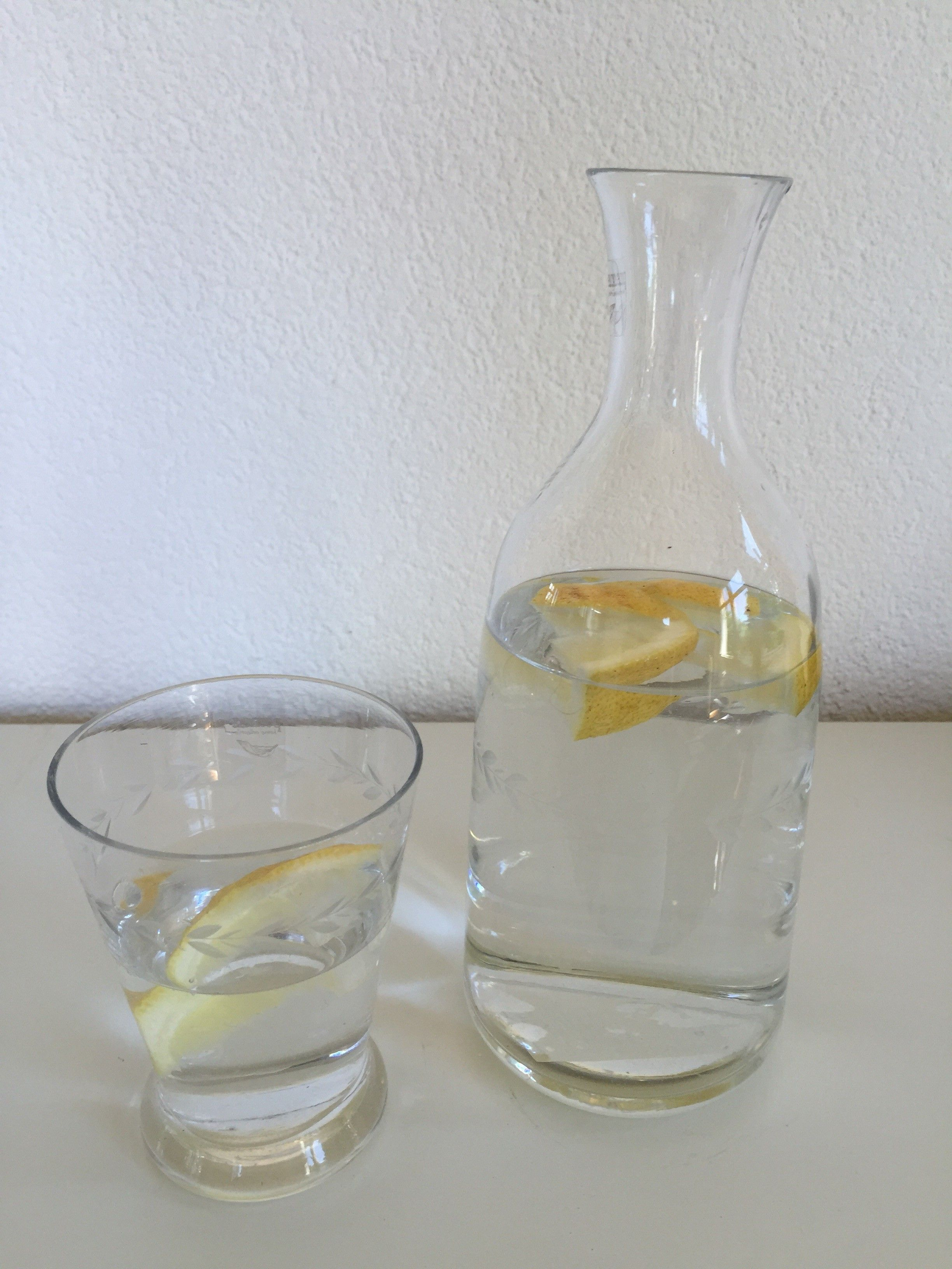 Bedside Water Carafe And Glass Bedside Water Carafe Set With Tumble Up Glass