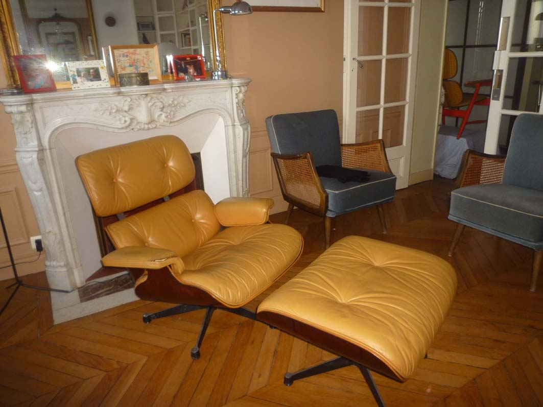Eams Lounge Chair Fauteuil Lounge Chair Charles Eames - L'atelier 50