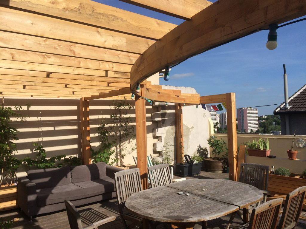 Mobilier De Jardin Professionnel | Chaise En Bois Palette Design ...