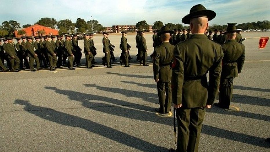 Marine drill instructor convicted of physically abusing recruits