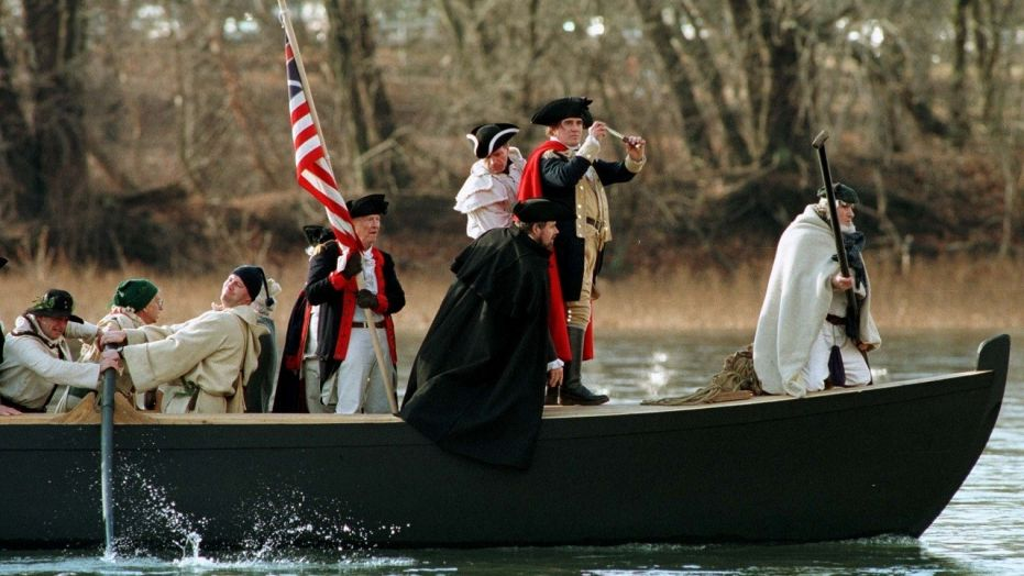 Washington\u0027s crossing of Delaware River will have to wait GLA NEWS