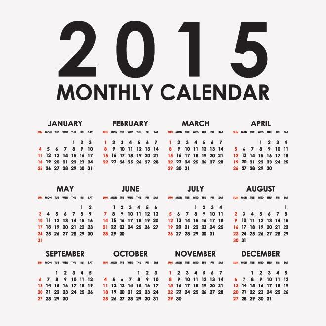 6 month calendar 2015 - Akbagreenw