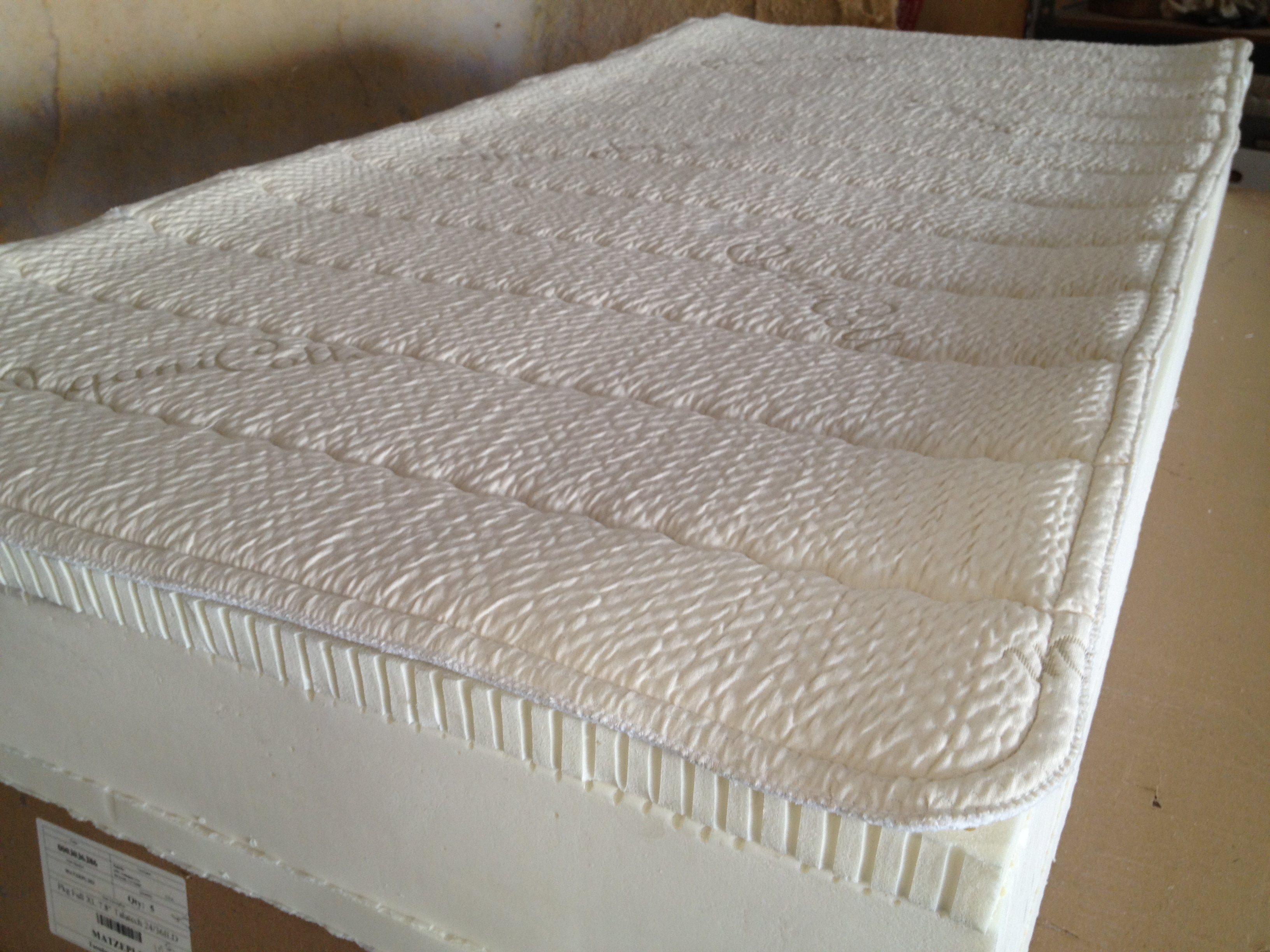 Foam Or Latex Mattresses 100 Pure Certified Organic Wool And Cotton