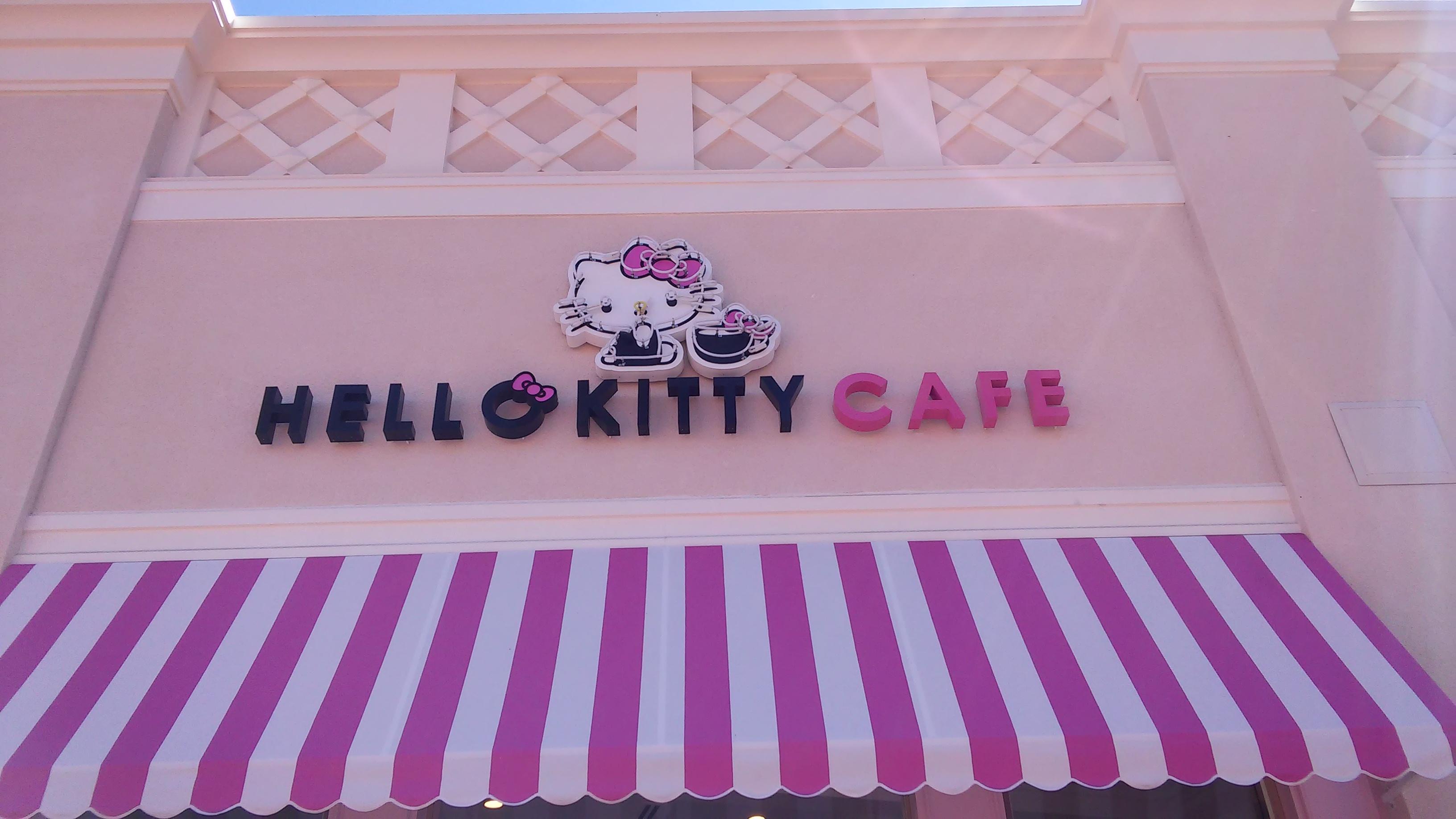 Fullsize Of Hello Kitty Cafe Irvine