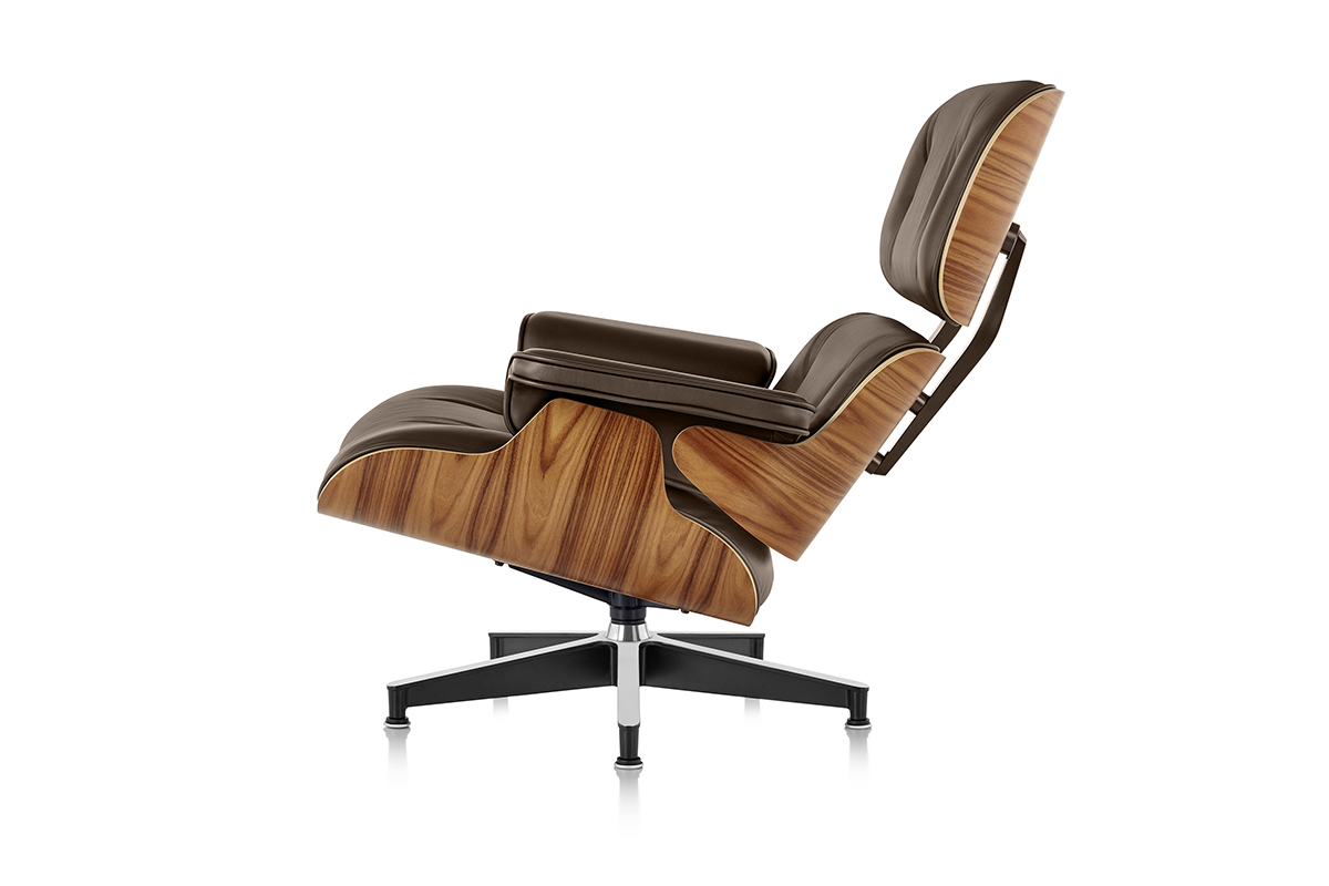 Charles Eames Chair : Charles eames chair charles eames inspired lounge chair white
