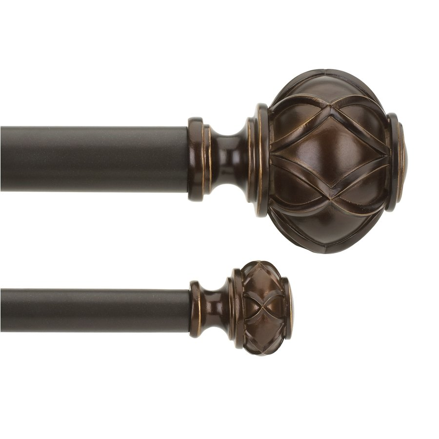 10 Foot Curtain Pole Curtain Nice Bronze Curtain Rods For Best Rods Material Ideas