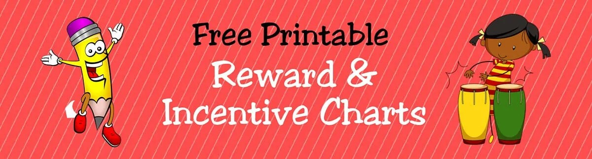 FREE Printable Reward  Incentive Charts for Teachers  Students