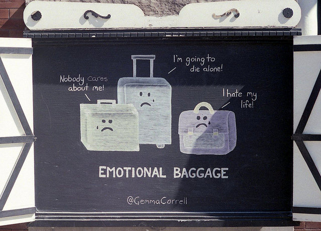 emotional baggage check