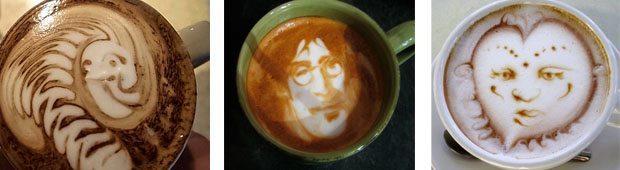 what is latte art