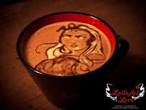Latte Art Love - Storm of X-Men