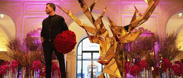 Four Seasons George V designs Valentine's Day pop-up boutique