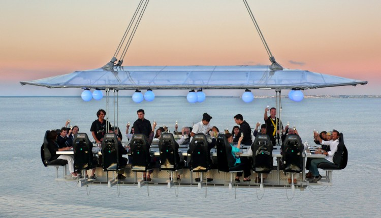 Monte-Carlo takes fine dining to new heights with Dinner in the Sky