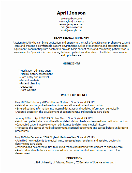 1 lpn resume templates try them now myperfectresumemyperfectresumecom