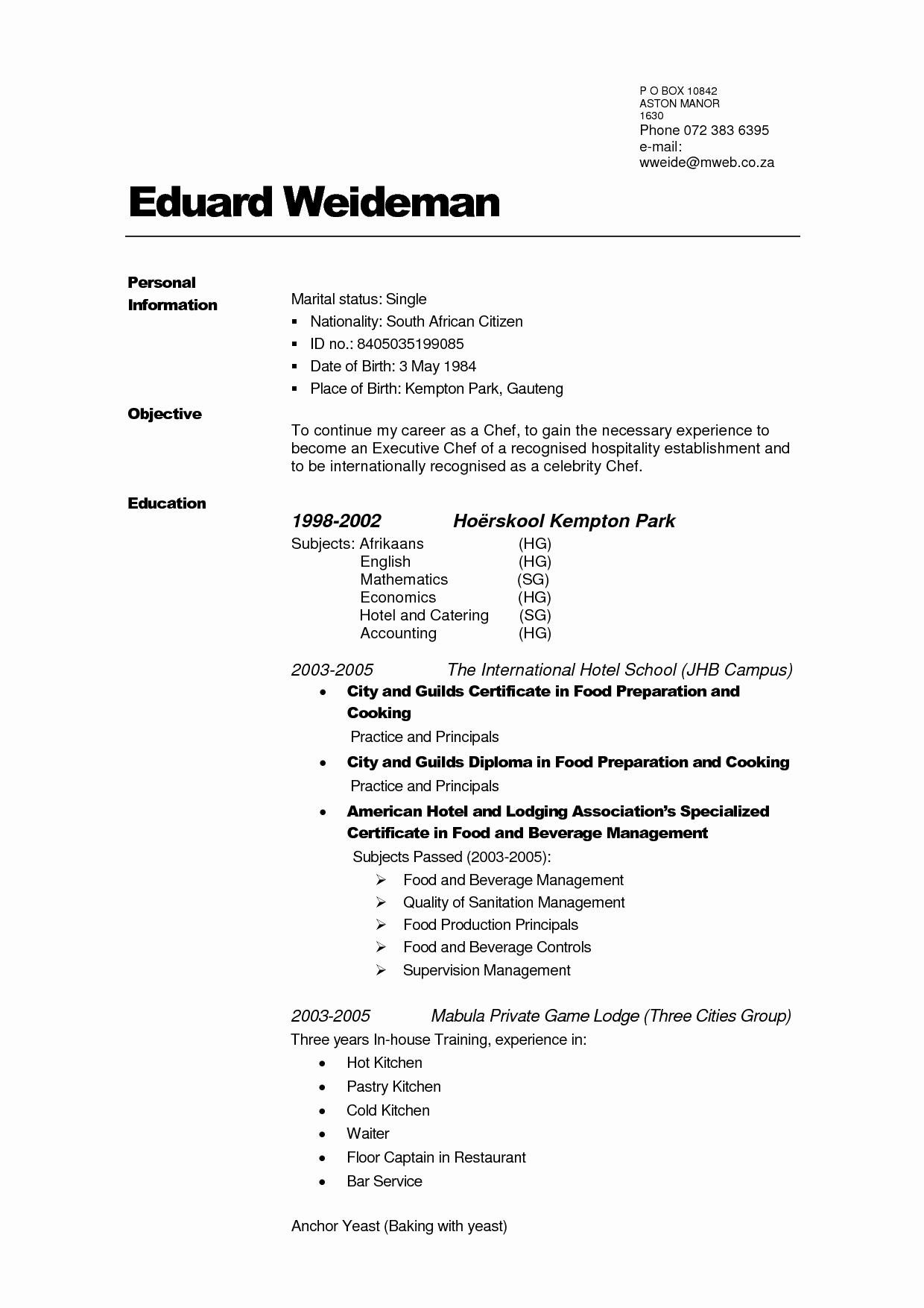 really free resume
