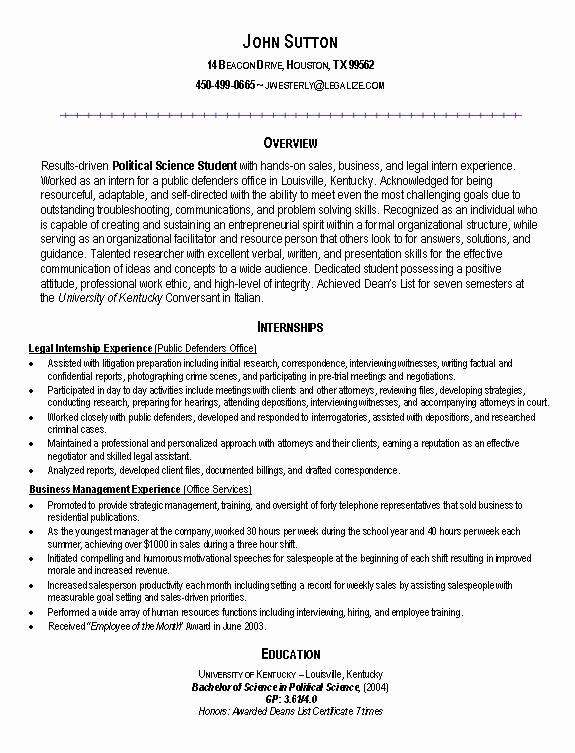 8 Sample College Resumes \u2013 Latter Example Template