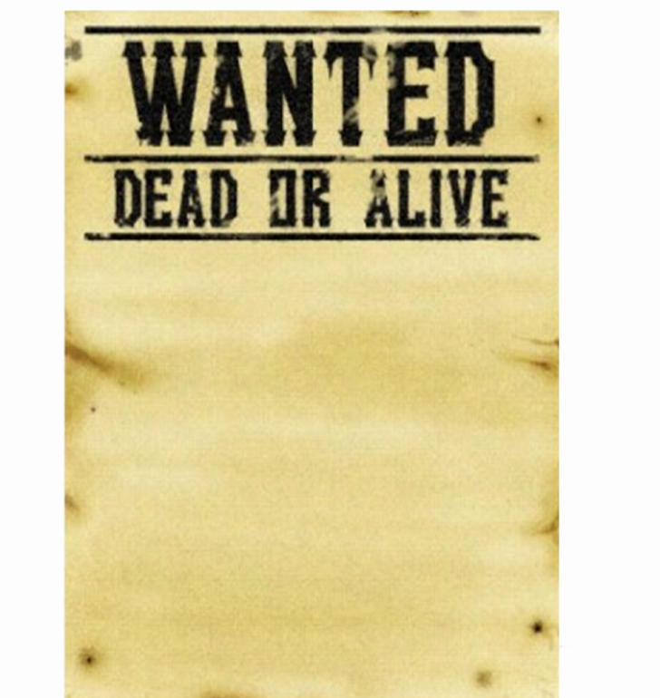 11 Blank Wanted Posters Free Printable Word Pdf Psd \u2013 Latter Example