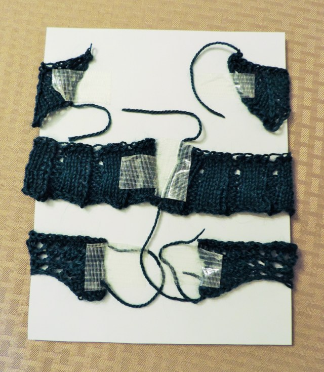 knitted wall art tutorial 2