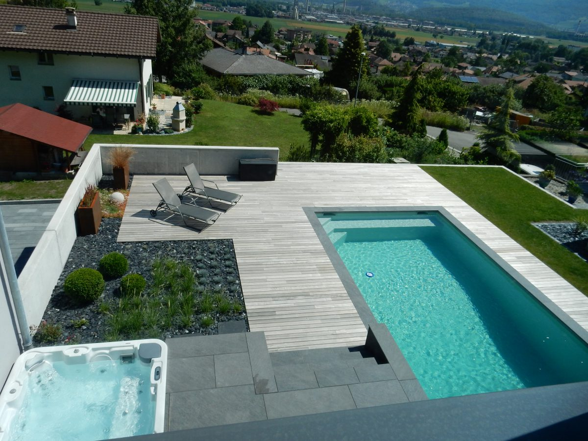 Amenagement Terrasse En Bois Avec Piscine Terrasse En Bois Lattion And Veillard