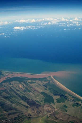 Nordeste do avião