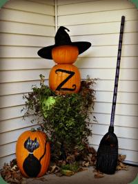 Halloween porch and DIY outdoor Halloween decorations ...