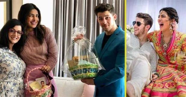 It's first Easter Sunday of Nick Jonas & Priyanka Chopra!! Check out their exclusive pics