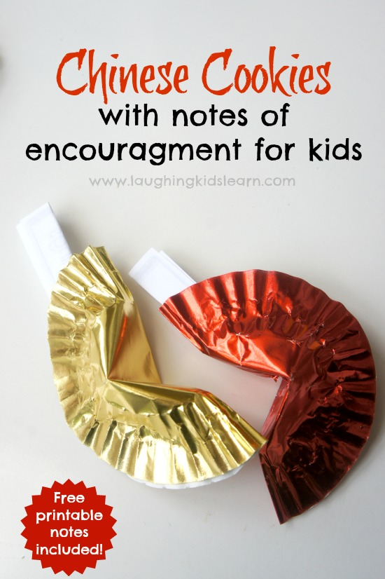 Chinese Fortune Cookies With Notes Of Encouragement For Kidsthe 14