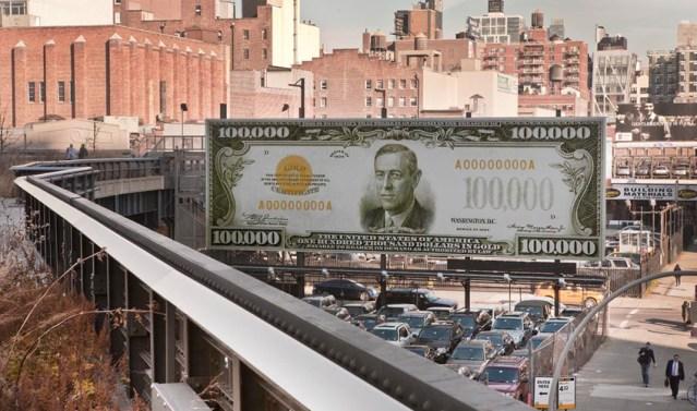 The First $100,000 I Ever Made by John Baldessari