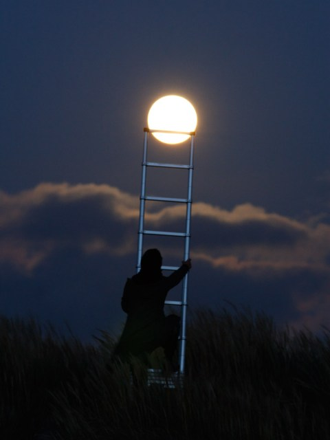 Moon photos by Laurent Laveder